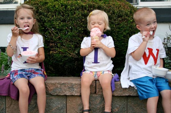 cousin camp summer ice cream